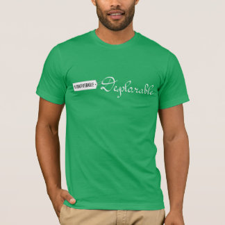 Unaffordable Deplorable with Price Tag T-Shirt