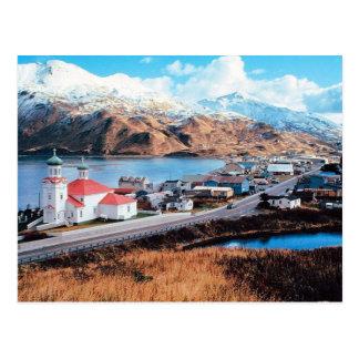 Unalaska Alaska Postcard