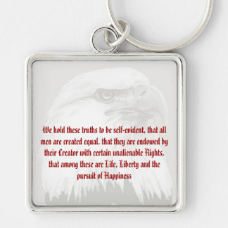 Unalienable Rights keychain