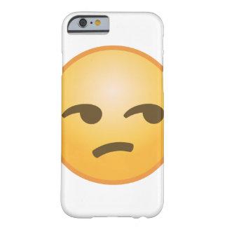 Unamused Emoji Barely There iPhone 6 Case