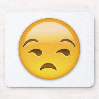 Unamused Face Emoji Mouse Mat