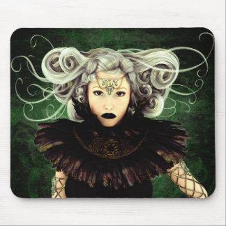 Unamused Gothic Art Mouse Pad