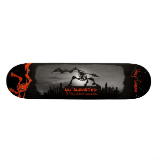 unanimated bored custom skateboard