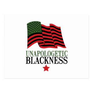 Unapologetic Blackness Postcard