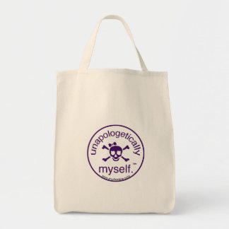Unapologetically Myself  Organic Tote Grocery Tote Bag