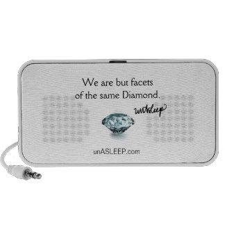 unASLEEP Diamond MP3 Speakers