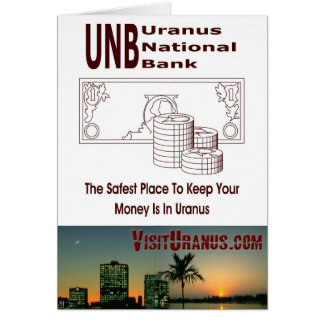 UNB GREETING CARD