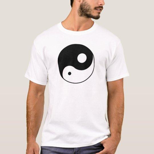 Unbalanced Yin Yang T-Shirt