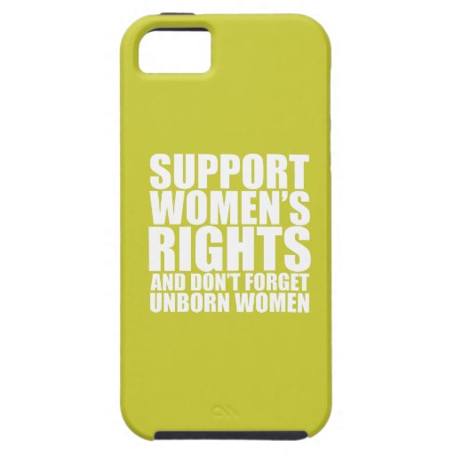Unborn Women's Rights Case For iPhone 5/5S