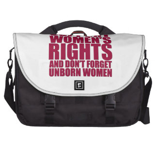 Unborn Women's Rights Laptop Bags