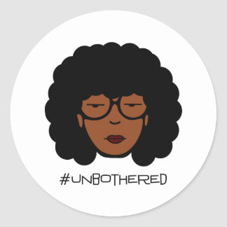 Unbothered Sticker