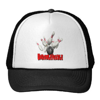 Unbowlievable Bowling Trucker Hat