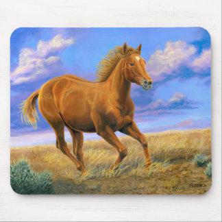 """Unbridled Freedom"" Quarter Horse - Mouse Mat"