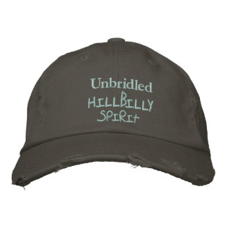 Unbridled , Hillbilly, Spirit Cap Embroidered Cap