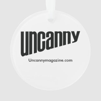Uncanny Magazine Space Unicorn ornament