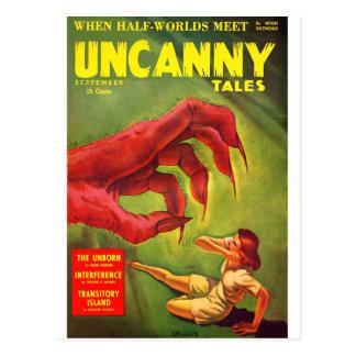Uncanny Tales 2 Postcard
