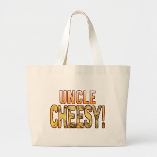 Uncle Blue Cheesy Large Tote Bag
