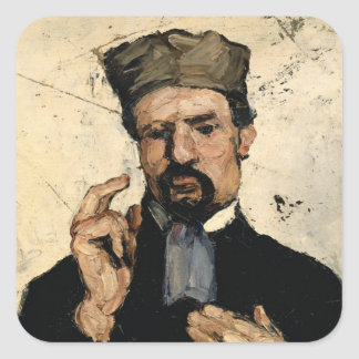 Uncle Dominique as a Lawyer, 1866 Square Sticker