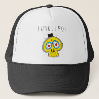 Uncle Funkle Skull Trucker Hat
