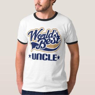 Uncle Gift World's Best Ringer Tee Shirt