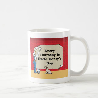 Uncle Henry's Coffee Mug