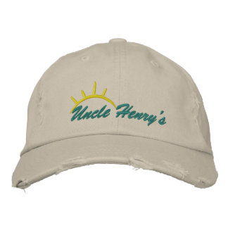 Uncle Henry's Embriodered Hat Embroidered Baseball Cap
