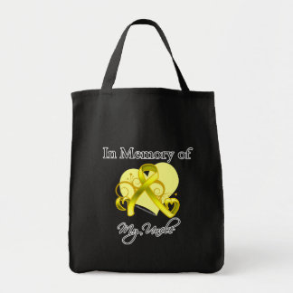 Uncle - In Memory of Military Tribute Canvas Bag