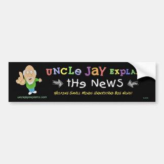 Uncle Jay Explains: Bumper sticker Car Bumper Sticker