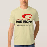 UNCLE LEO's World Reknowned Tire Irons Tee Shirt