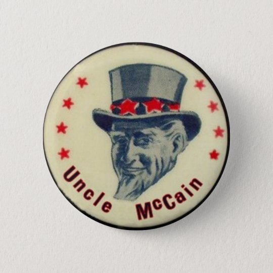 Uncle McCain Button