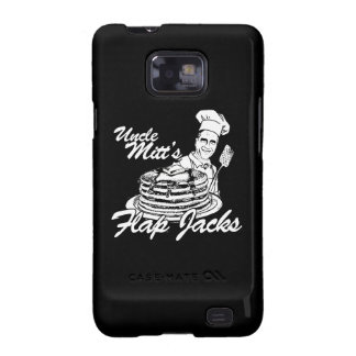 UNCLE MITT'S FLAP JACKS.png Samsung Galaxy S2 Cases