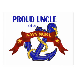 Uncle of a Navy Nuke Postcard
