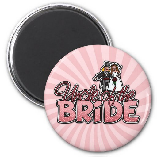 uncle of the bride magnet