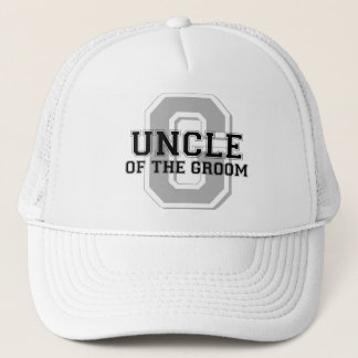 Uncle of the Groom Cheer Trucker Hat