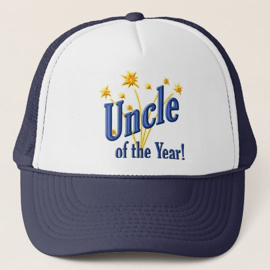 Uncle of the Year Trucker Hat