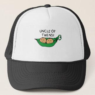 Uncle of Twins Pod Trucker Hat