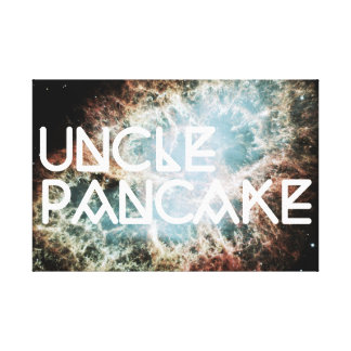 uncle pancake stretched canvas prints