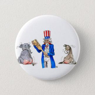 Uncle Sam 2 6 Cm Round Badge