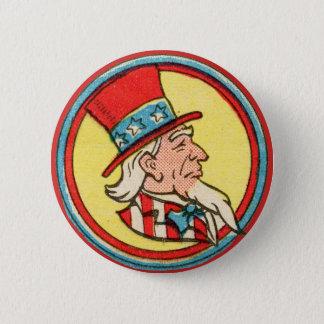 Uncle Sam! 6 Cm Round Badge