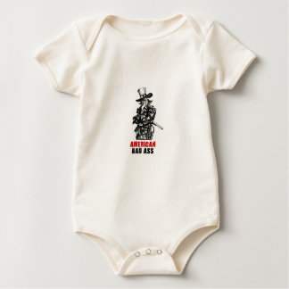 Uncle Sam - American Bad Ass Baby Bodysuit