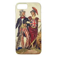 Uncle Sam and Britannia