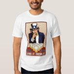 Uncle Sam Beer Pong Shirts