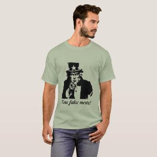Uncle sam Fake news T-Shirt