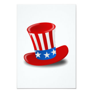 Uncle Sam Hat Card