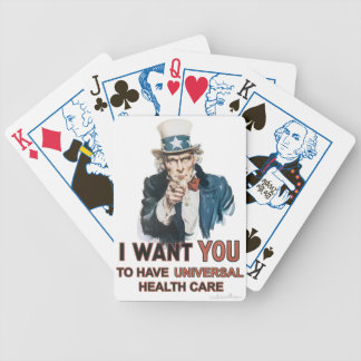 Uncle Sam Healthcare Bicycle Cards Poker Deck