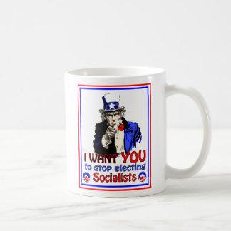 Uncle Sam - I want YOU Basic White Mug