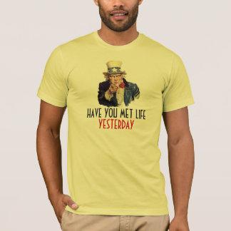 Uncle Sam I Want You Slogan Sarcastic Template T-Shirt