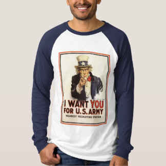 Uncle Sam - I Want You T-Shirt