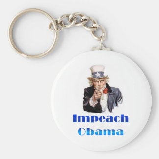 Uncle Sam Impeach Obama Key Ring