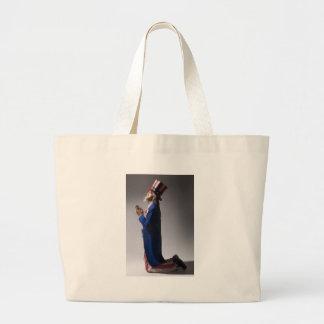 Uncle Sam in Prayer Bag